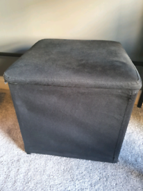 Fabric storage box/stool