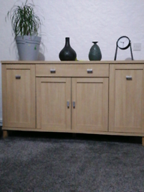 BEECH SIDEBOARD From Beautility furniture makers.
