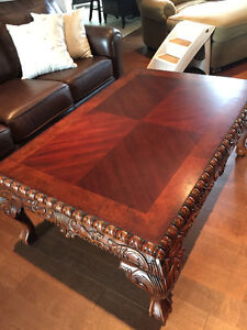 COFFEE TABLE AND TWO END TABLES FROM MIO'S