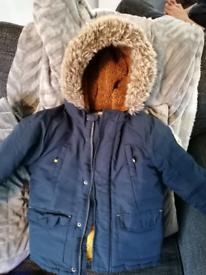 Boys coat size 5-6