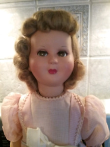"18"" Vintage Doll With Flirty Eyes"