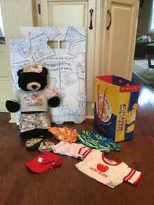 Build A Bear, wardrobe, clothing and accessories and bear