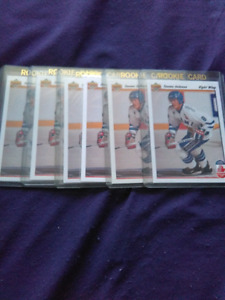 1991/92 UPPER DECK TEEMU SELANNE ROOKIE CARD NHL HOF
