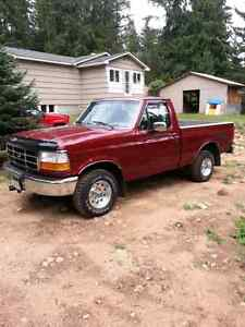 1996 F150 SHORT BOX REGULAR CAB