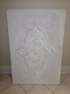 Plaster of Paris wall decor