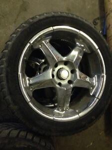 """20"""" wheels with 275-45-20 tires"""