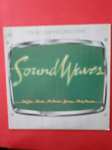 SOUND WAVES, today's top hits and stars, lp record,  1980
