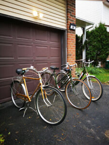 Raleigh bikes - vintage and newer