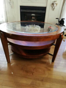 MOVING SALE CHEAP - Coffee Table, Wooden Chair, Lamps, Bicycles