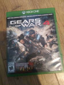 Gears of war 4 mint condition