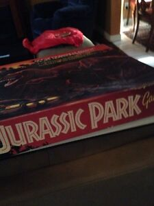 The classic board game Jurassic park