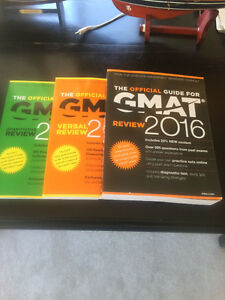 Official GMAT review 2016 three book set