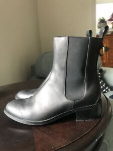 Cole Haan black waterproof leather boots