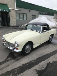 1969 MG Midget restored