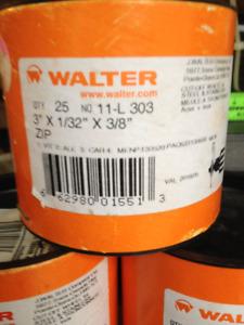 "Walter Cut Off Discs 3""x1/32""x3/8"""