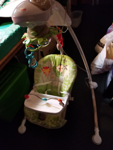 Musical Cradle and swing