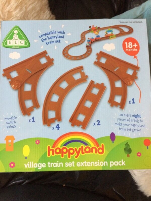 Happyland village train extension pack BNIB
