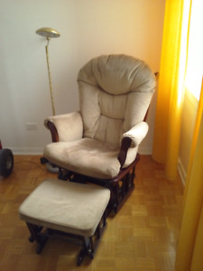 Fauteuil & Repose Pieds - Shermag