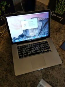 "2011 Macbook Pro 15"" 8GB RAM 500GB HDD"