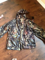 """Backwoods 4-in-1 Waterproof/breathable 'Real-tree """" camo suit"""