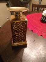 Gold Coloured Candle holder