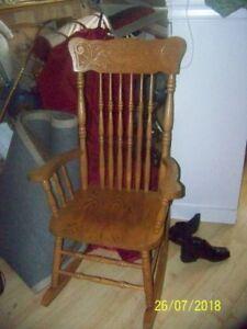Furniture  Full size Rocking Chair: