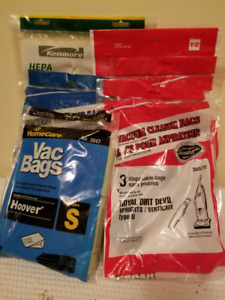 Assortment of Vacuum Bags