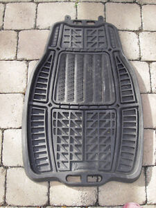 Pants savers car mats - Tapis d'autos sauve-pantalon