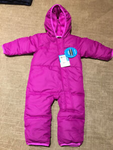 12 - 18 month columbia snowsuit - new with tags LAMBETH PICKUP