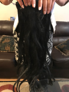 Stush Hair Extensions - Black - Brand New Never Used (REAL HAIR)
