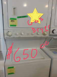 Need a stacker washer dryer for a perfect space? we have it !!!