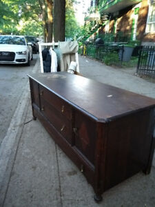 Antique Buffet FREE - Clean and Great Condition