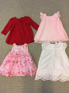 Baby girl clothes 6-12 mos