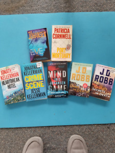 Patterson, Kellerman, Robb and Johansen Books