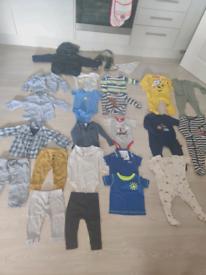 Baby boy clothes size 6-9months Next,Boss,pinokio,LOOG, Tu, George etc