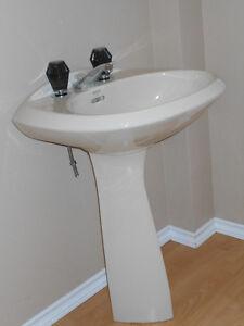American Standard Pedestal Sink - Beige