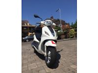 Piaggio Fly 2013 scooter, 7000 miles, moped, 2013 plate