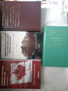 NCA books - Criminal Law, Business Org , Administrative Law