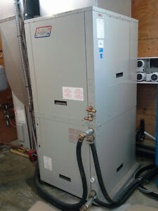 Geothermal heating & cooling unit