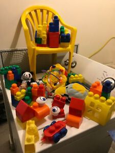 TOYS LOT WITH  FREE CHAIR