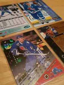 Joe Sakic 4 card lot  Kitchener / Waterloo Kitchener Area image 3