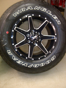 F150 Wheel and Tire Packages with TPMS Choice's