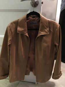 Women's 100% Genuine Leather Jacket