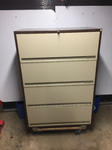 Classeur latéral 4 tirroirs – 4 drawer lateral filing cabinet –