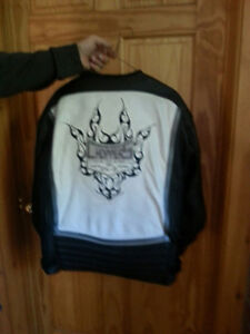 Leather Jacket Must see ! Authentic Orange County Choppers Peterborough Peterborough Area image 2