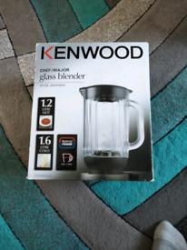Kenwood glass blender at358