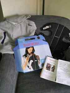 Baby Bjorn Carrier and the Infantino all season Hoodie