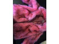 7-8 years NEXT faux fur