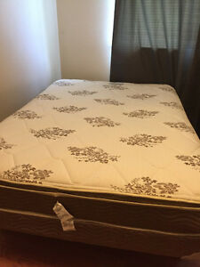 URGENT! Double mattress, box spring & bed frame