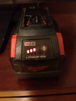 Milwaukee 28v battery